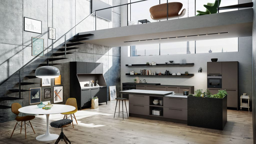 SieMatic urban kitchen design