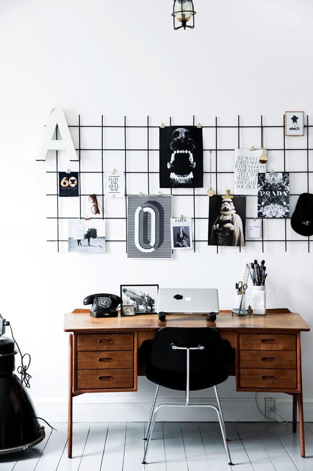 Work space inspo via Boligliv