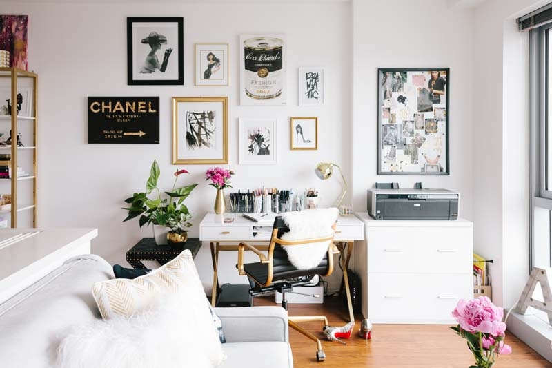 The Every Girl - home office decor inspo