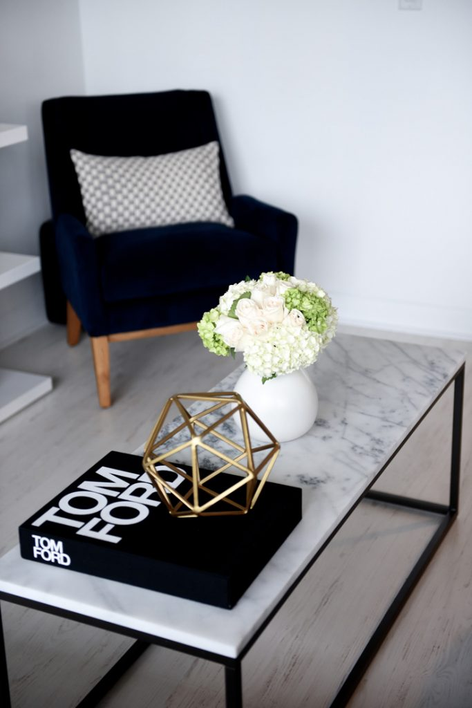 Marble coffee table interior decor inspiration