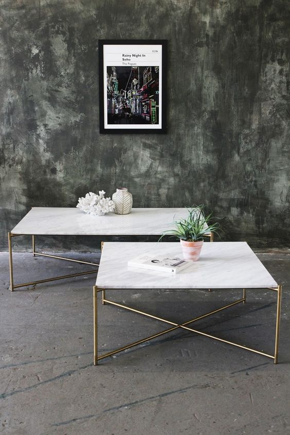 Marble coffee table inspiration