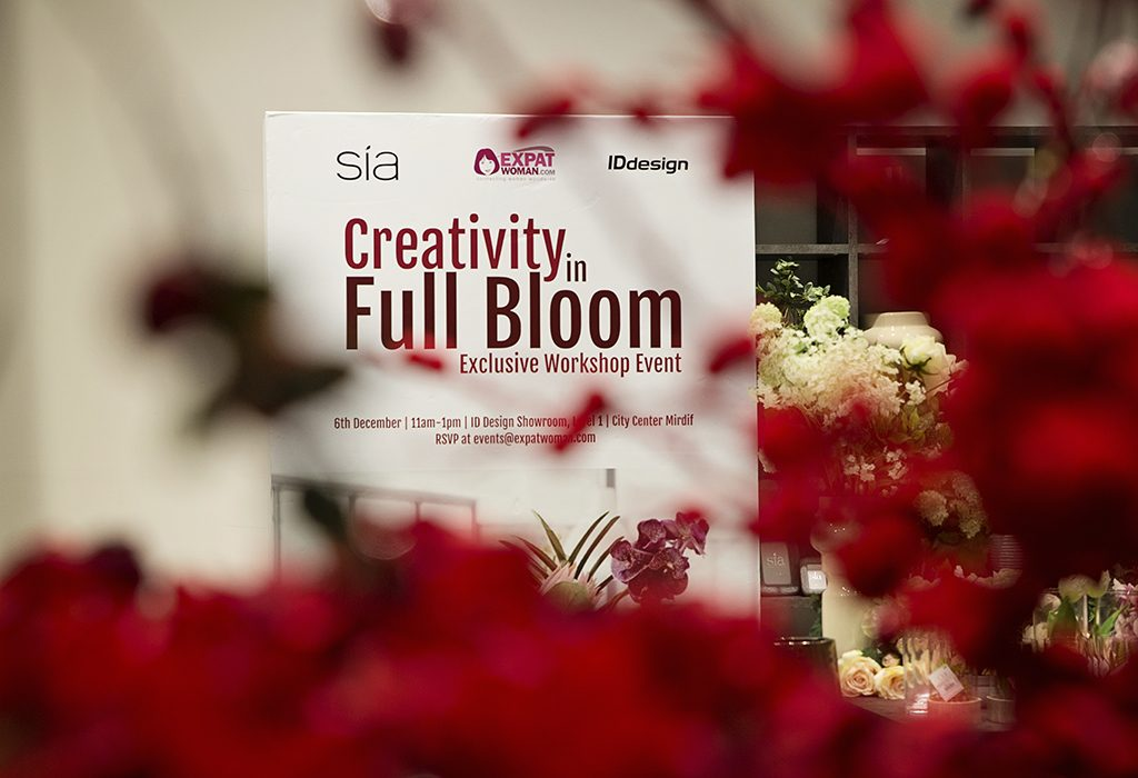 SIA flowers IDdesign UAE