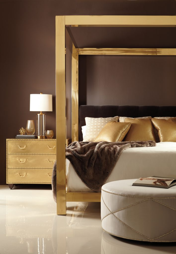 Bernhardt - Kensington canopy bed 353