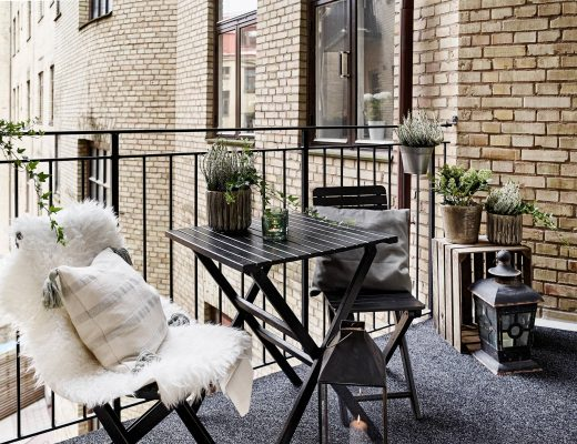 Balcony decor inspiration