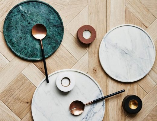 Marble trays inspiration