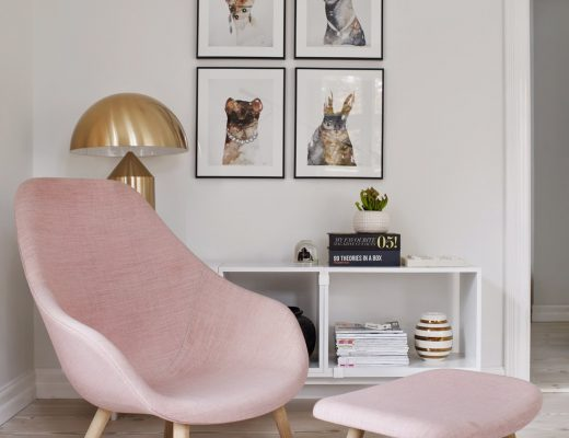 Rose quartz interior decor inspiration | Afronomadic blog